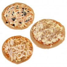 Pack 3 Pizzas Fit Altas en Proteínas