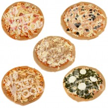Pack 5 Pizzas Fitness Proteícas